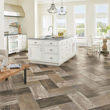 Historic District Engineered Tile - Blanched Mist